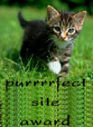 Purrrrfect Site Award