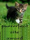 Purrrrfect Site Award